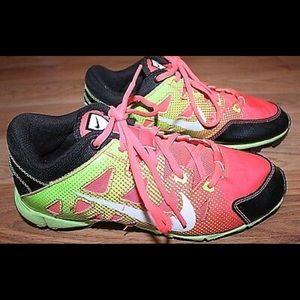 Nike HyperDiamond Fast Flex Cleats.
